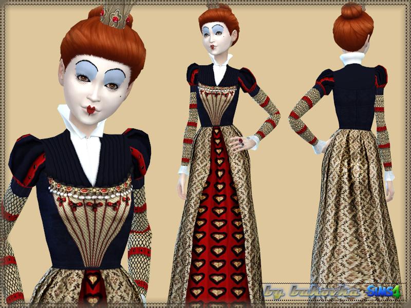 Bukovka S Dress Red Queen
