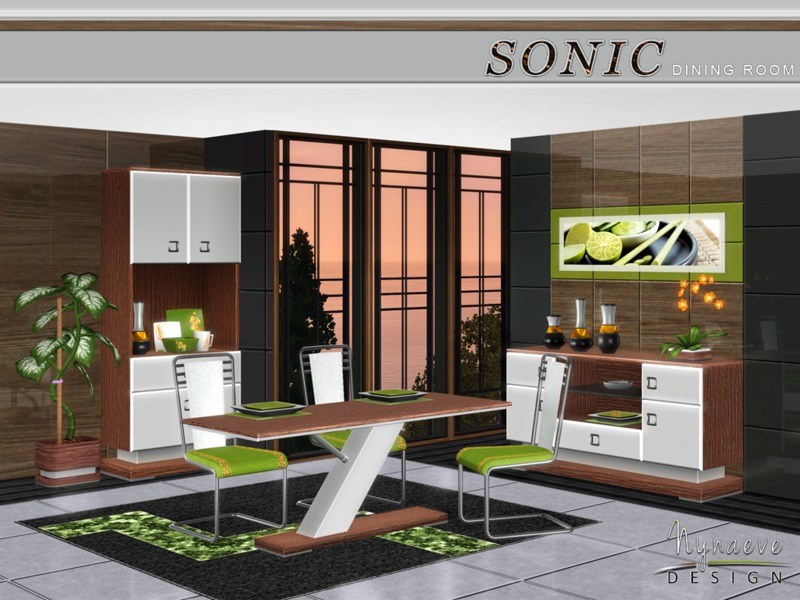 NynaeveDesigns Sonic Dining Room