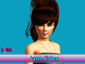 Sims 3 — Jane Eden by Lisa Cage by Lisa_Cage — My first sim on TSR. Her name is Jane Eden. She's young adult and has