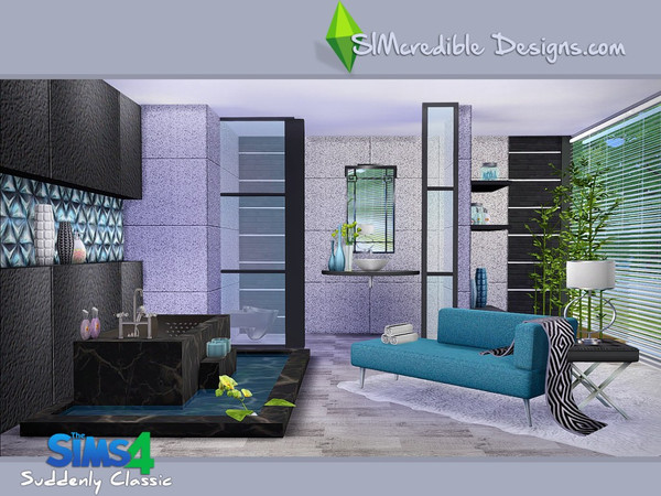 Simcredible 39 s suddenly classic for Classic house sims 4