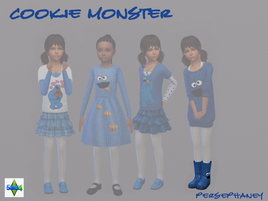 Cookie Monster Boots