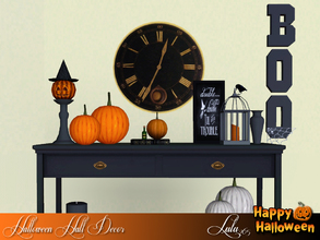 Sims 3 — Halloween Decor  Set by Lulu265 — A Decor set for your Halloween Hall Decor or Dining Room , well anywhere you