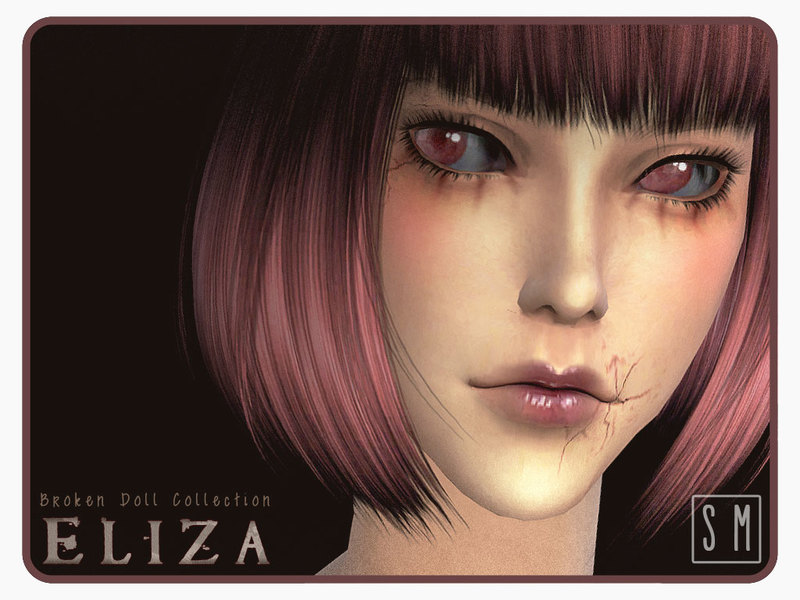 [ Eliza ] - Broken Doll Makeup Collection