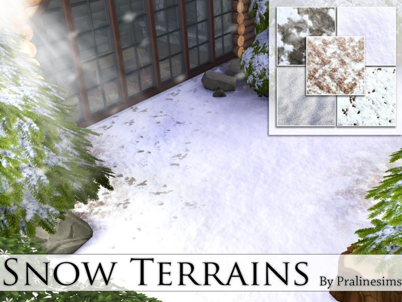 pralinesims snow terrains