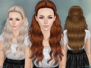 Sims 3 — Hannah - Female Hairstyle by Cazy — Hairstyle for Female, Teen through Elder. LODs included.
