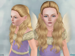 Sims 3 — Hannah - Child Hairstyle by Cazy — Hairstyle for Female, Child. LODs included.