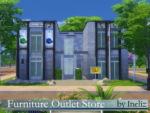 Sims 4 Lots - 'store'
