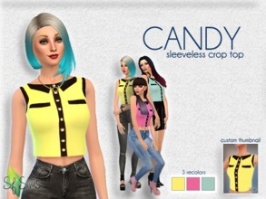 0a38c2ee9a8b Candy Croptop - Perfect Patio SP.