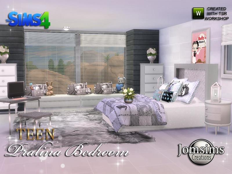 jomsims\' Pralina Teen Bedroom