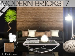 Sims 3 — Modern Bricks 7 by Pralinesims — By Pralinesims for TSR