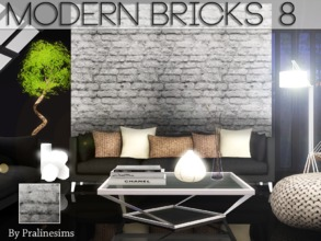 Sims 3 — Modern Bricks 8 by Pralinesims — By Pralinesims for TSR