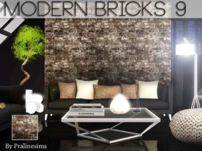 Sims 3 — Modern Bricks 9 by Pralinesims — By Pralinesims for TSR