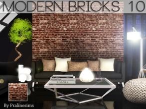 Sims 3 — Modern Bricks 10 by Pralinesims — By Pralinesims for TSR