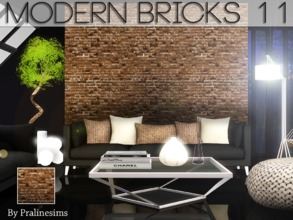 Sims 3 — Modern Bricks 11 by Pralinesims — By Pralinesims for TSR