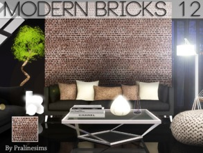 Sims 3 — Modern Bricks 12 by Pralinesims — By Pralinesims for TSR
