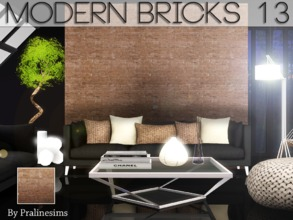 Sims 3 — Modern Bricks 13 by Pralinesims — By Pralinesims for TSR