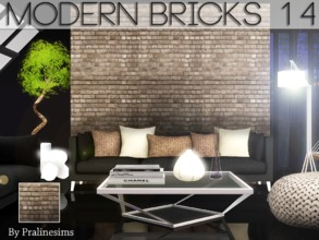 Sims 3 — Modern Bricks 14 by Pralinesims — By Pralinesims for TSR