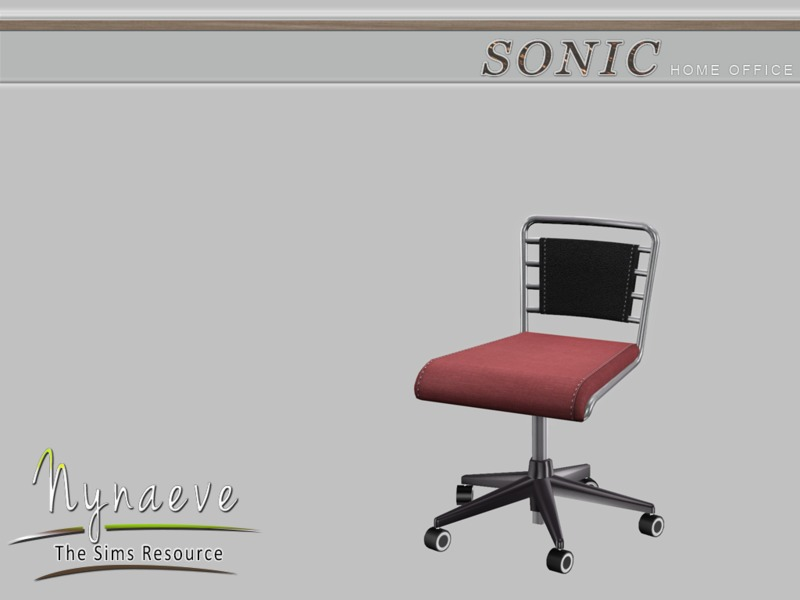nynaevedesign 39 s sonic desk chair. Black Bedroom Furniture Sets. Home Design Ideas