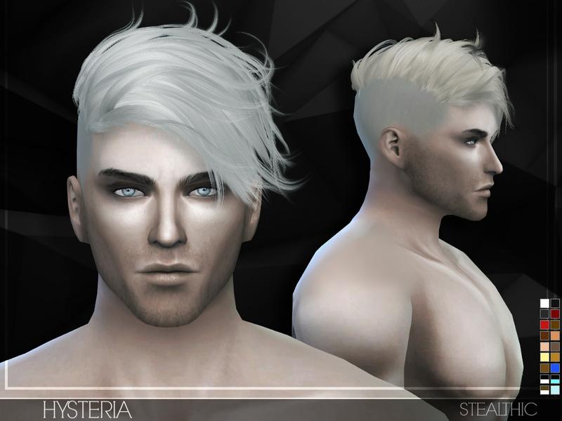 Stealthic Hysteria Male Hair