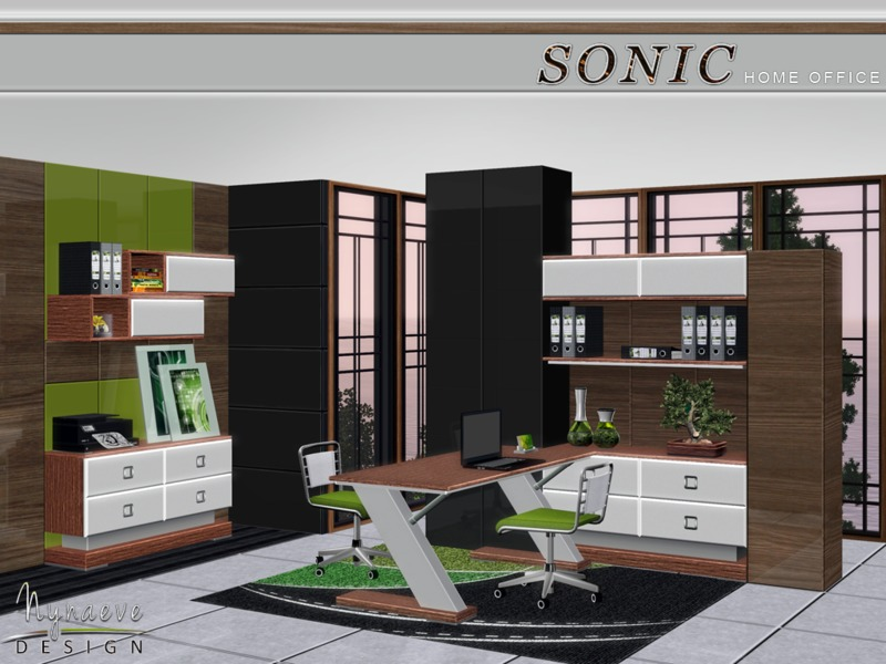NynaeveDesign\'s Sonic Home Office