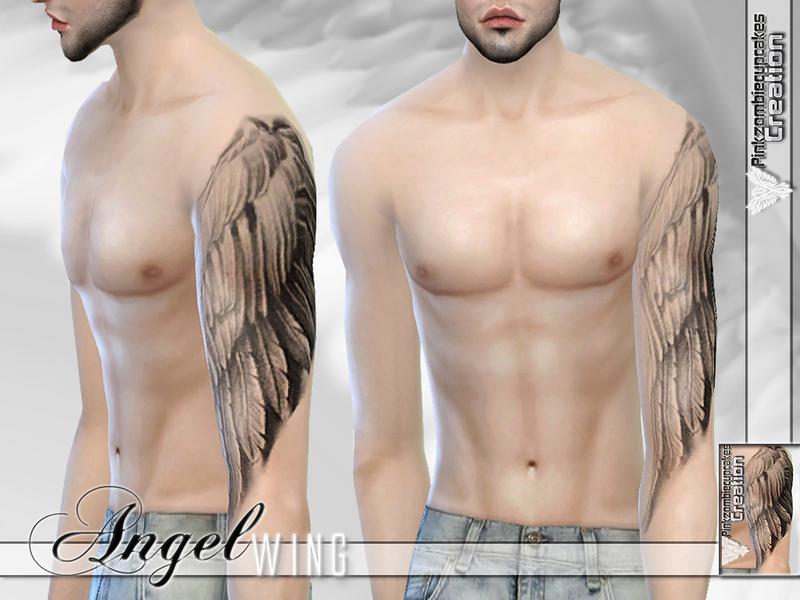 Half Sleeve Tattoo Angel Designs