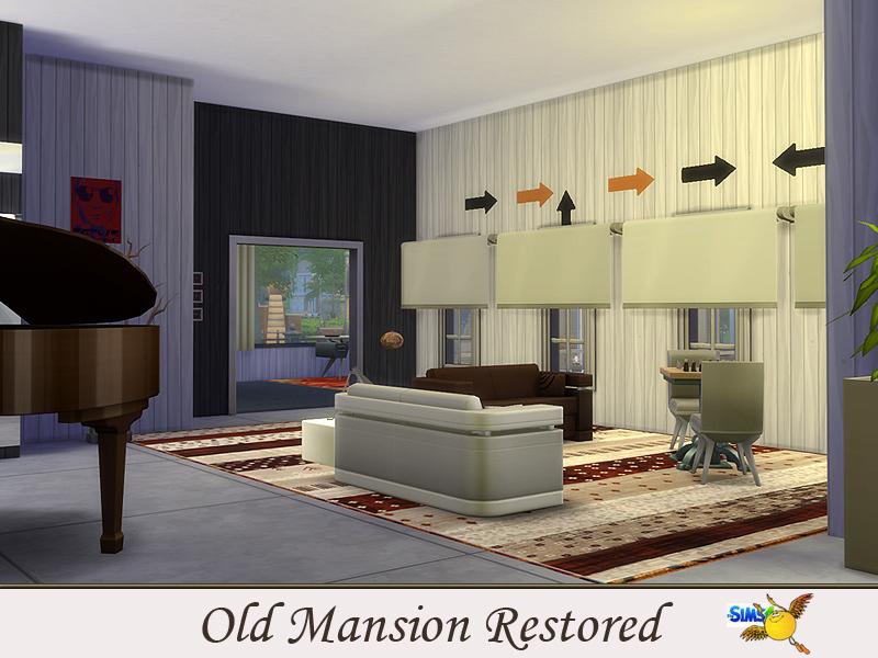 Evi Old Mansion Restored
