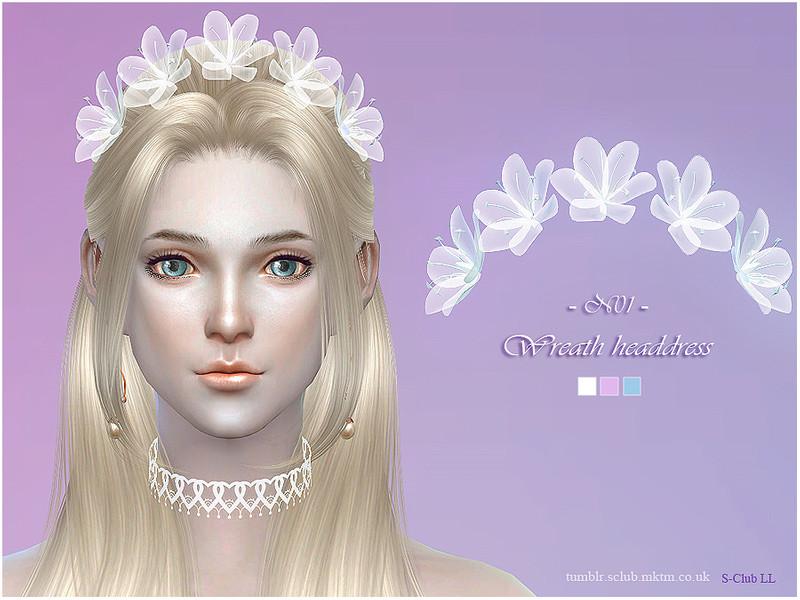 S Club Ll Ts4 Wreath Headdress 01