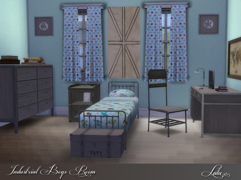 Lulu265 S Industrial Boys Room