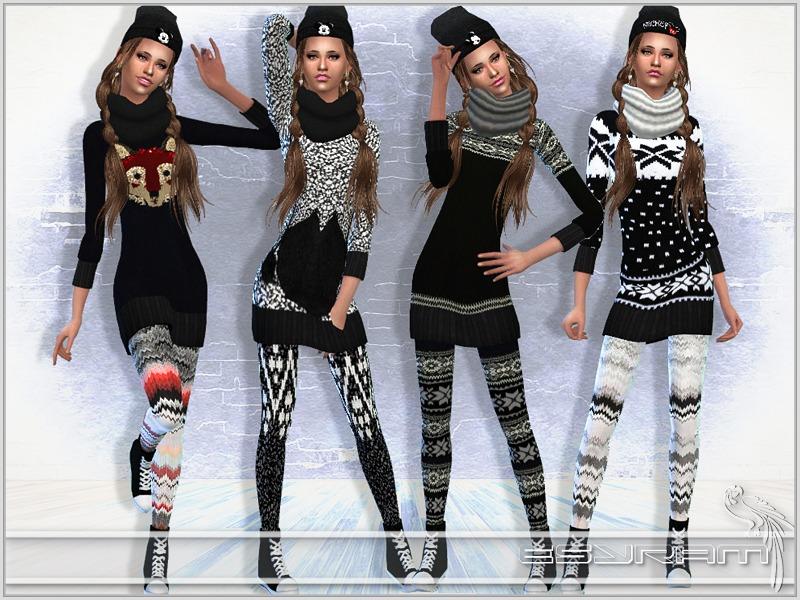 EsyraM's Knitted sweater dress