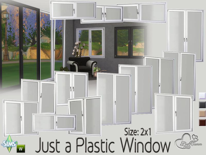BuffSumm's Just a Plastic Window (2x1)