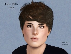 Sims 3 — Jesse Mills by jessesue2 — Jesse comes from a very accomplished family. His father who is a very charismatic