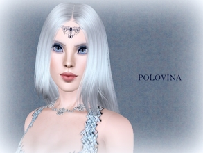 Sims 3 — Polovina For TSR by jessesue2 — The name Polovina actually translates to half for she is half human by her