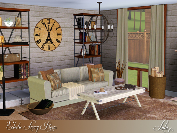 sims 3 living room sets lulu265 s eclectic living room 21221