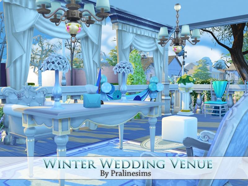 Pralinesims' Winter Wedding Venue
