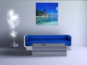 Sims 3 — Paradise by Andreja157 — Made in TSRW from EA mesh (ITF poster)