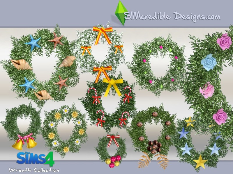 Simcredible S Wreath Collection