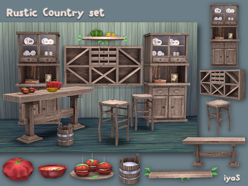 Soloriya S Rustic Country Set