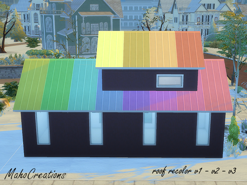 Mahocreations Roof Recolor Set