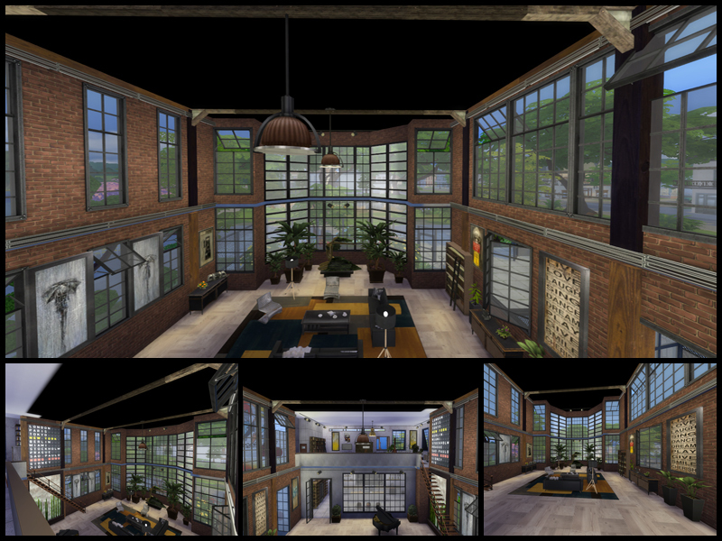 attic built in ideas - Danuta720 s Industrial Loft new line