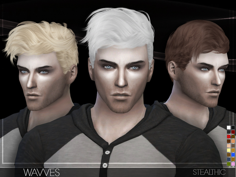 Stealthic Wavves Male Hair