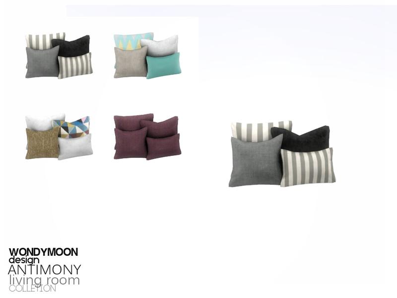 Wondymoon S Antimony Cushion 1x1
