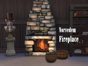 Sims 4 Fireplaces - 'christmas'