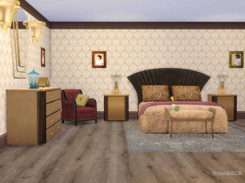 ShinoKCR\'s Art Deco Bedroom