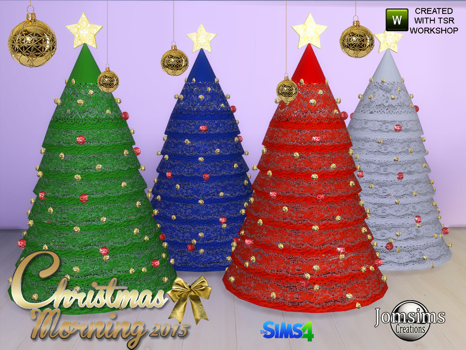 jomsims' christmas morning 2015 christmas tree