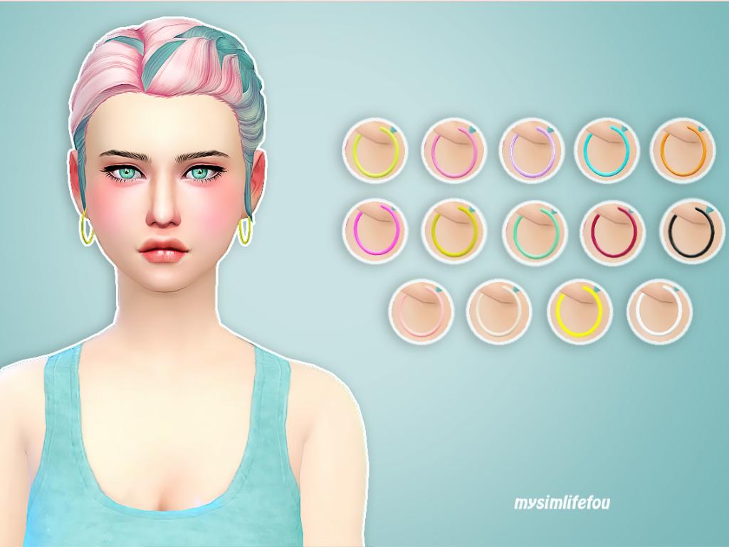 Ear Hoop   for Sims 4