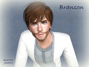 Sims 3 — Branson Sim by jessesue2 — Branson Sim grew up in a single parent home, with a mother who had a passion for