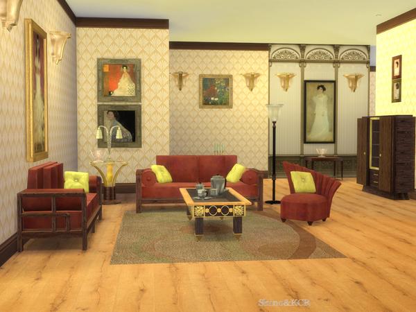 shinokcr 39 s art deco livingroom. Black Bedroom Furniture Sets. Home Design Ideas