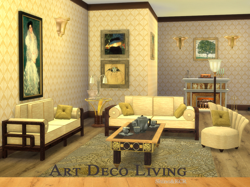 Art deco living room art deco living room i