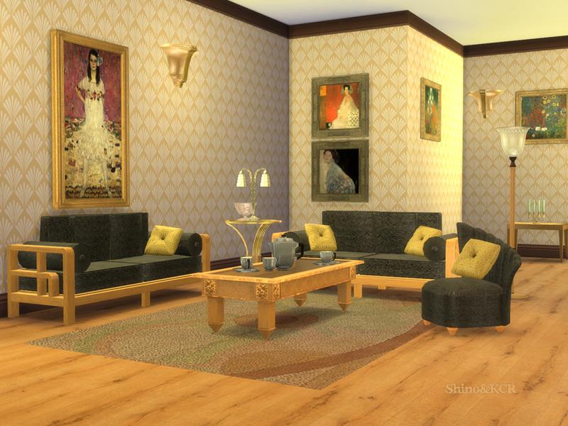 ShinoKCR\'s Art Deco Livingroom