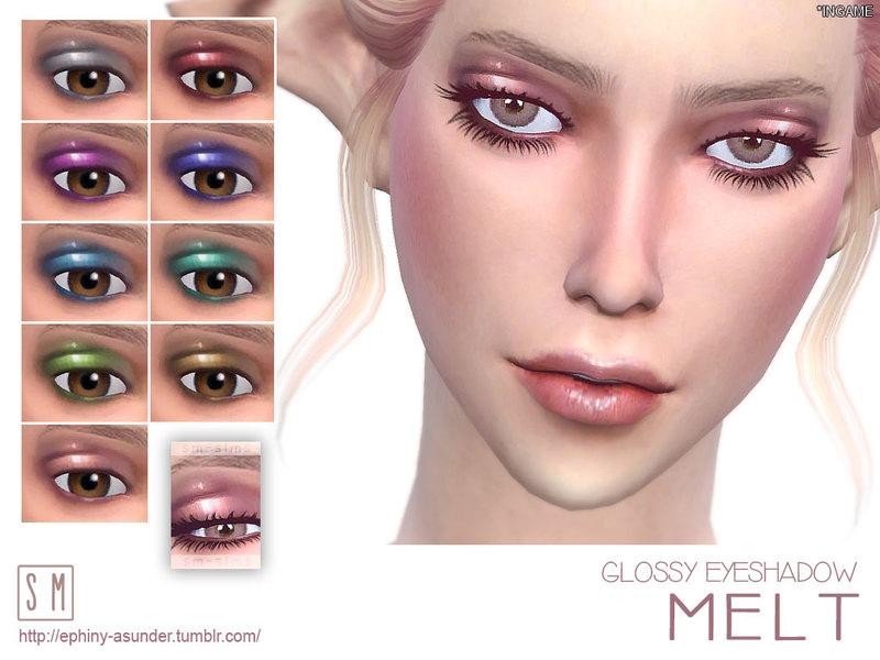 Screaming Mustard's [ Melt ] - Glossy Eyeshadow